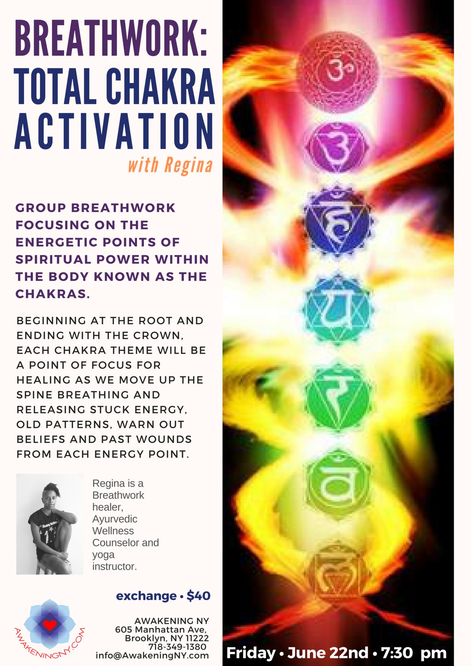 Breathwork: Total Chakra Activation — Wolf Medicine Magic