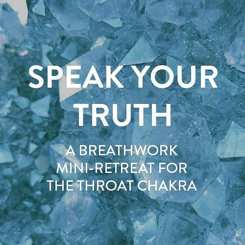 Wow. Seems like folks REALLY need that deeeeep release. The Throat Chakra #Breathwork is filling up so get your spot ASAP. Of course walk-ins are welcome (for all of you who can't decide until the last minute) but it IS getting full so keep that in mind. . . . I've been thinking lately of all the ways in which I too silence myself and how at the moment I don't feel safe enough to say what I gotta say to someone but that #Breathwork is a place where I *do* feel safe and free to be me. . . . .  I want for Saturday's #Breathwork to be that space for folks. Scream at that misogynist boss. Yell at that roommate who never fucking cleans up after themselves. Tell your mom you hate it when she says negative things to you about your physical appearance.  LET. IT. OUT! . . . . See you soon! LINK IN MY BIO
