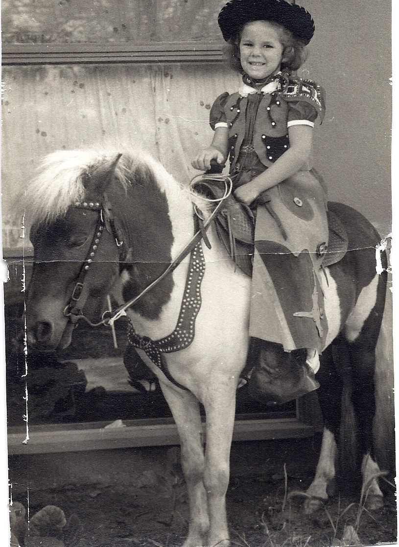 Maryedith with Sparky The Horse