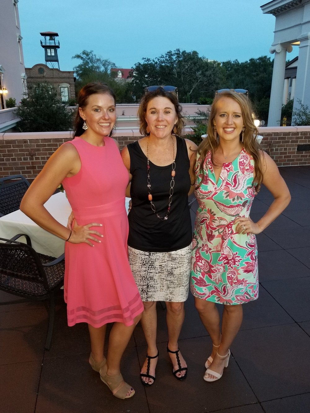 Our Marketing Team (From Left to Right): Stefanie, Liz and Allison
