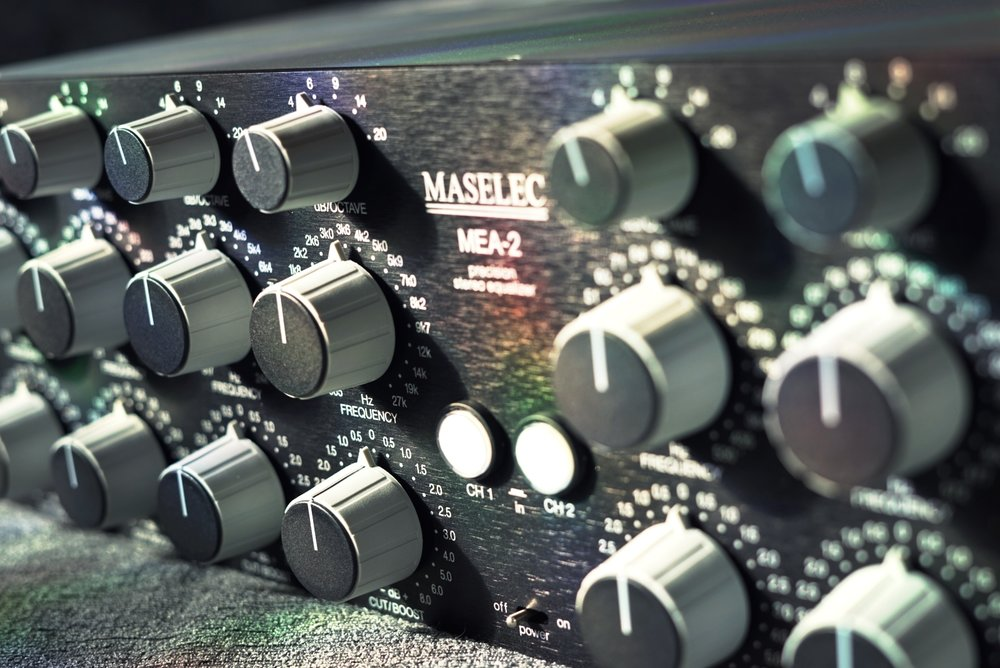 Prism Maselec MEA-2 -  Precision EQ and favourite among top end mastering facilities worldwide.