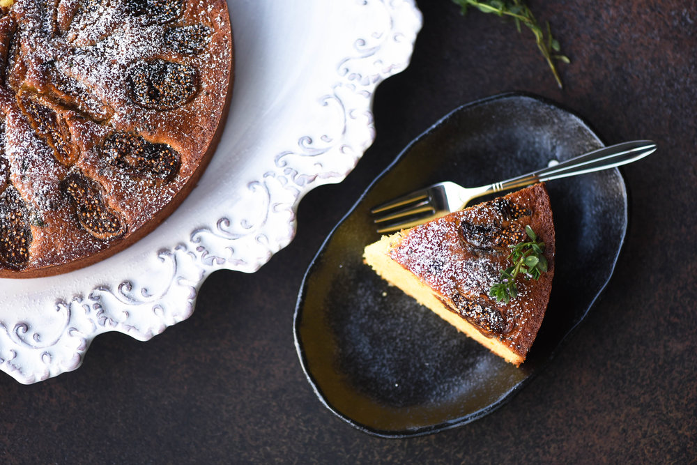 Fig cake - Photo Culinary Nirvana