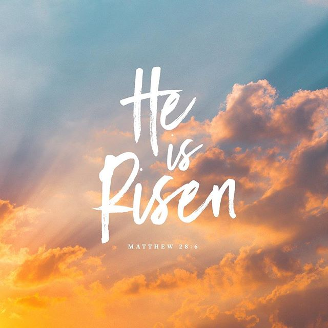 thank Jesus for his never ending, perfect love. Happy Easter!!