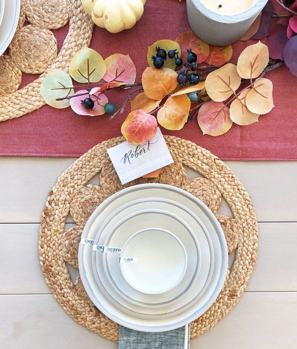 Shop this dishware set  here .