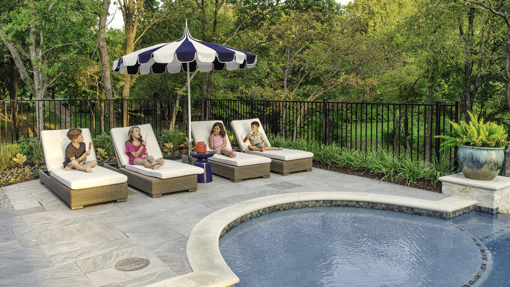 All furniture items from Design Roots are approved for use outdoors.