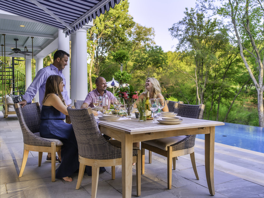 Installing a retractable shade will ensure that you can enjoy time outside… anytime!