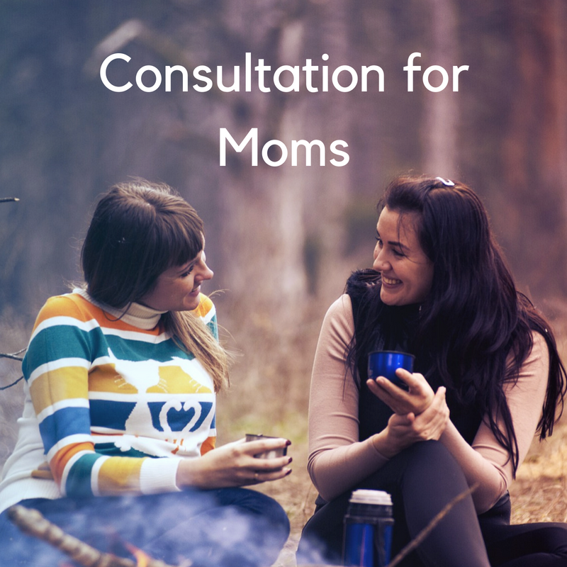 Consultation and help for moms