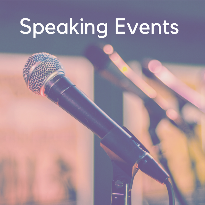 Dr. Dyurich speaking events