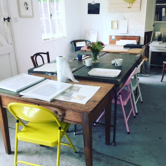 The Art Retreat Woodbridge, Home Studio of Samantha Barnes Artist