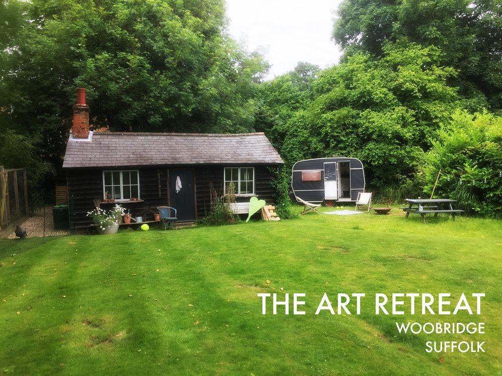 Samantha Barnes's Art Retreat, Suffolk