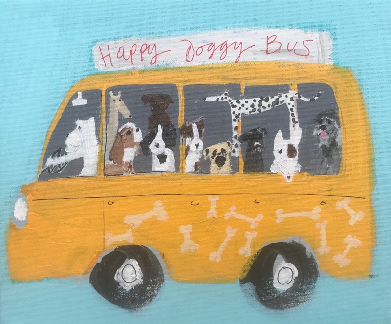 'Happy Doggy Bus'