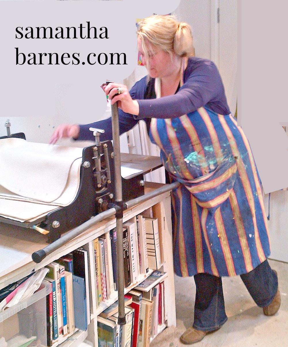 Samantha Barnes Artist is ipaintdogs.com