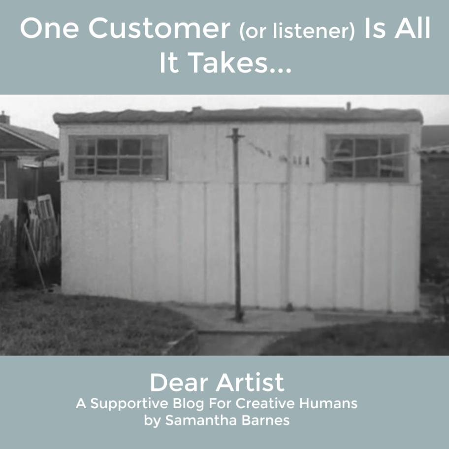 Deke Duncan radio broadcaster by Samantha Barnes Artist