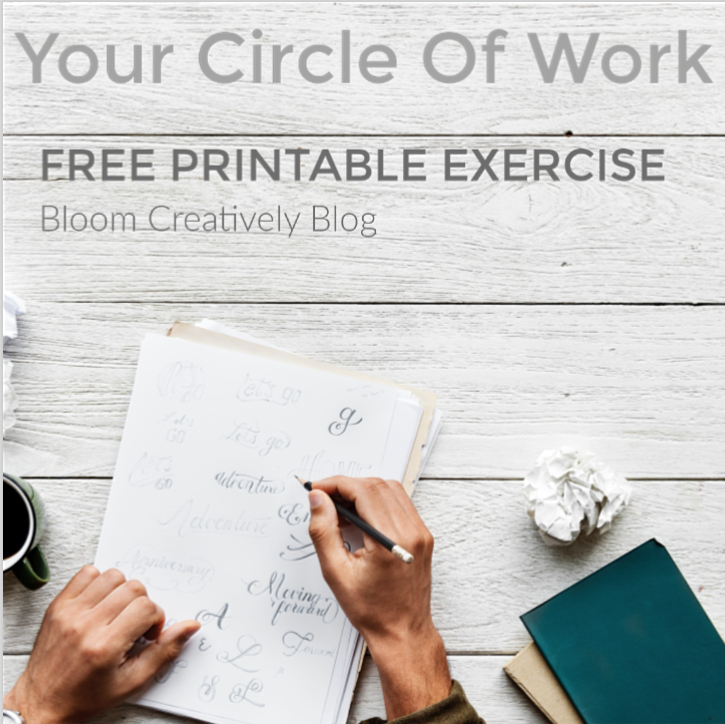 Your Circle of Work, Bloom Creatively by Samantha Barnes