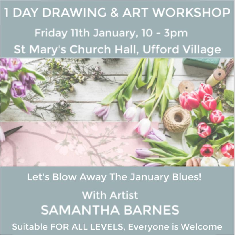 'Drawing & Art Day' with Samantha Barnes Artist 2019