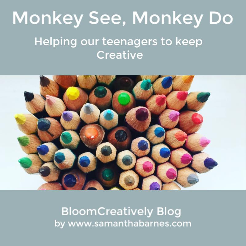 Monkey See, Monkey Do  - Blog by Bloom Creatively Samantha Barnes
