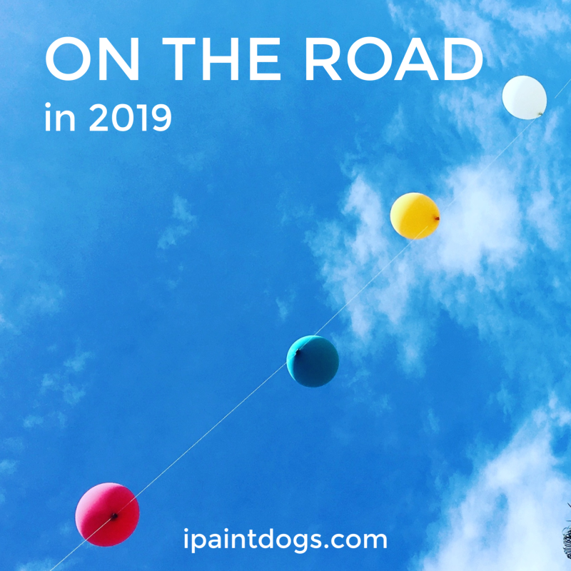 ipaintdogs, 2019 events & fairs