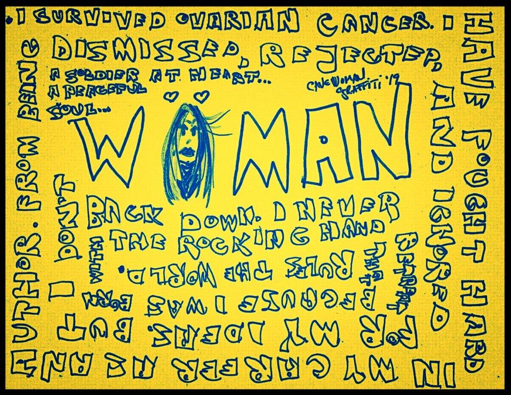 Cavewoman Graffiti Woman's Day.jpeg
