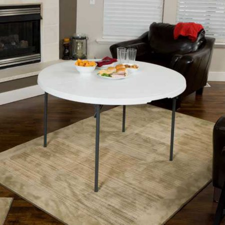 "48"" Round Table • $8"