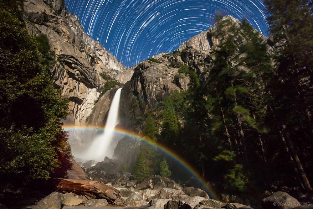 Moonbow in Lower Yosemite Fall by Brian Hawkins120506-67838t.jpg