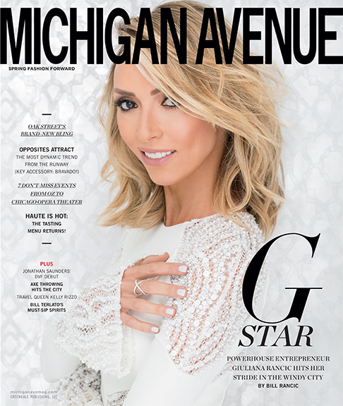 MICHIGAN AVENUE SPRING ISSUE