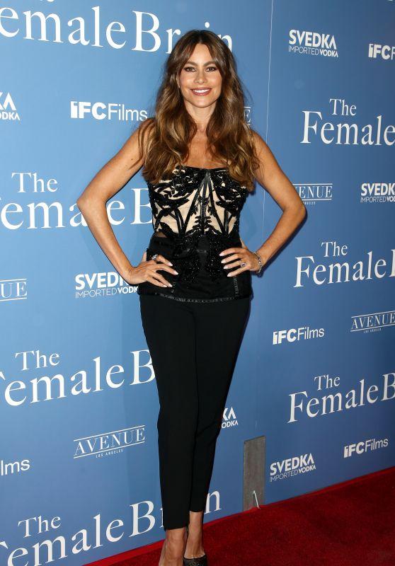 Sofia Vergara attends the premiere of IFC Films' 'The Female Brain
