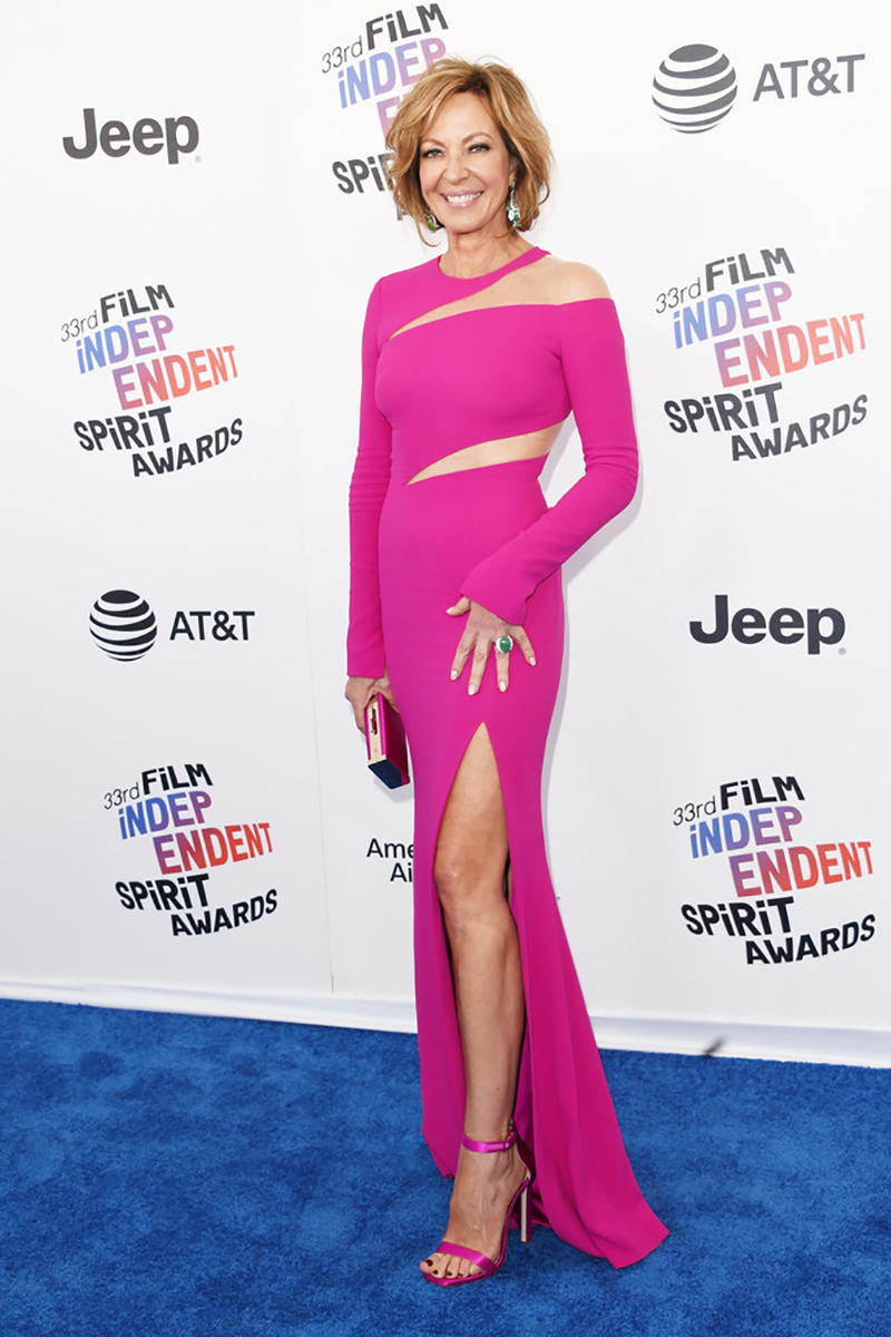 Allison Janney attends the Independent Spirit Awards
