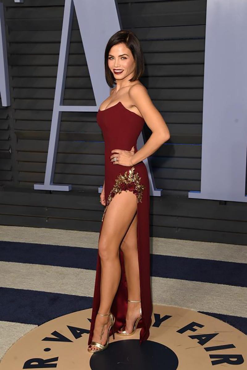 Jenna Dewan at the Oscars Vanity Fair party