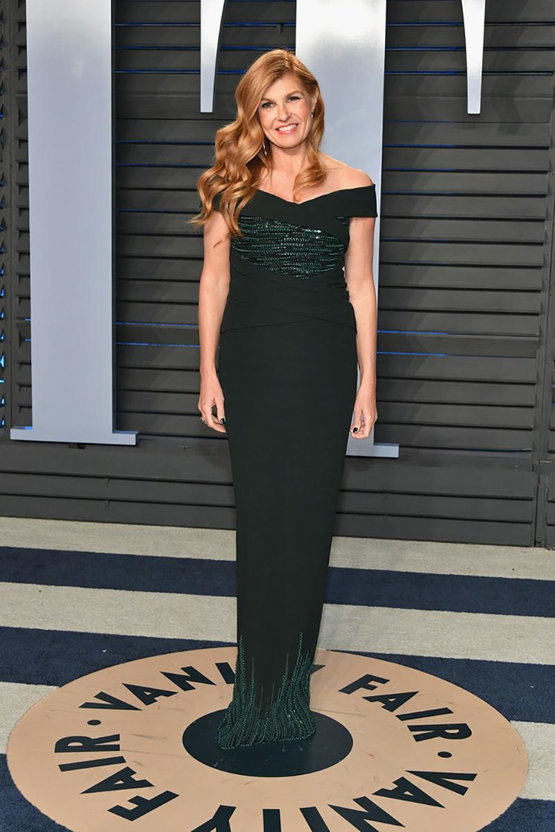 Connie Britton at the Oscars Vanity Fair party