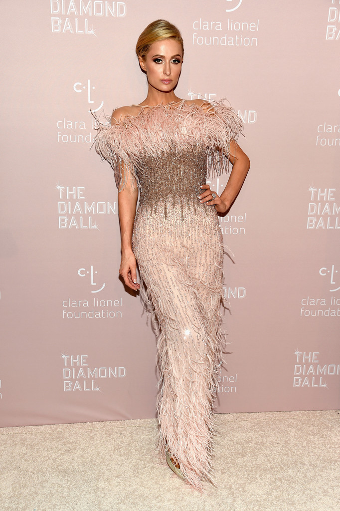 Paris Hilton attends Rihanna's 4th Annual Diamond Ball benefitting The Clara Lionel Foundation