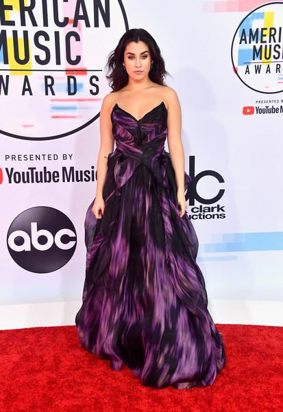 Lauren Jauregui attends the 2018 American Music Awards