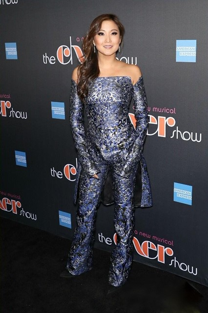 """Ashley Park arrives at """"The Cher Show"""" Broadway Opening Night"""