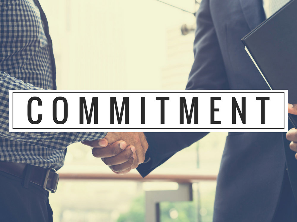 Commitment in baptism and membership