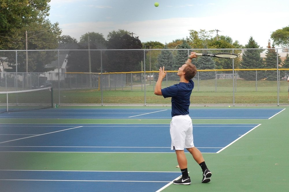 Boys Tennis - Co-Op with Clawson