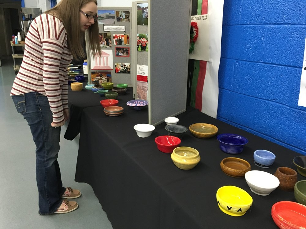 Empty Bowls Supper