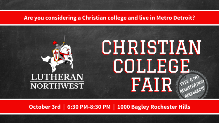 metro detroit christian college fair lutheran northwest
