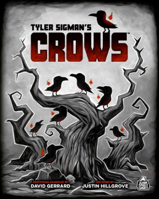 4) Tyler Sigman's Crows - I was excited to back this project and even more excited to get my hands on it. The art is looking great, and I know the team who put this together - so I can say without a doubt that the materials will be the best.
