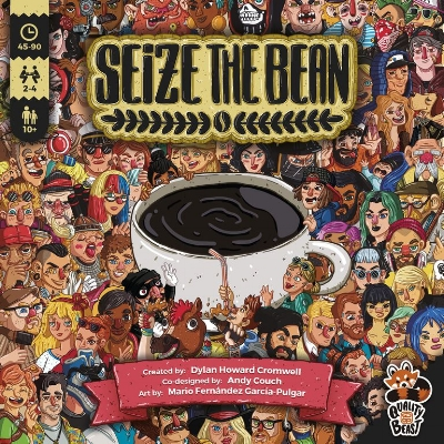 1) Seize the Bean - Maybe it's because I am a Hipster, maybe it is because I am in the coffee capital of the world, Seattle (challenge me on that). Seize the Bean from Quality Beast looks like a fantastic deck-building game with solid components. The art is fantastic and different from what is generally offered in the hobby. Can you become the best cafe in Berlin?Funding Period: Jan 16 2018 - Feb 15 2018 (30 days)Final Funds: €137,334 pledged of €20,000 goalBackers: 3,038