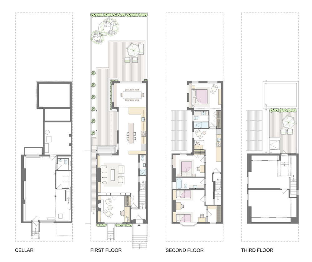 williamsburg-townhouse-renovation-floor-plans