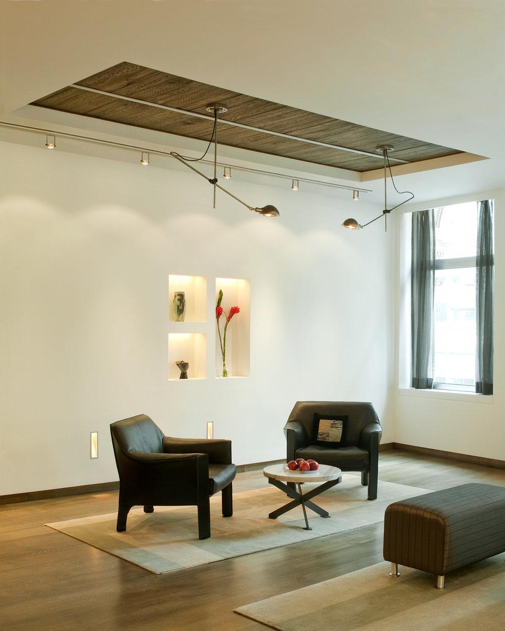 NYC Loft Renovation - Living Room Seating