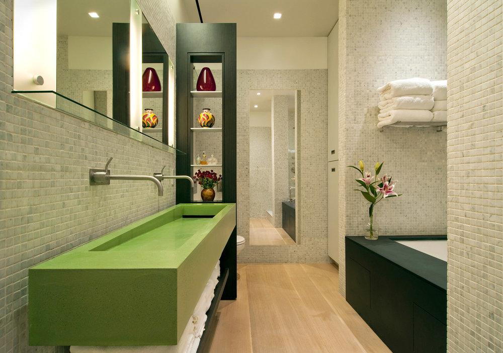 NYC Loft Renovation - Master Bathroom
