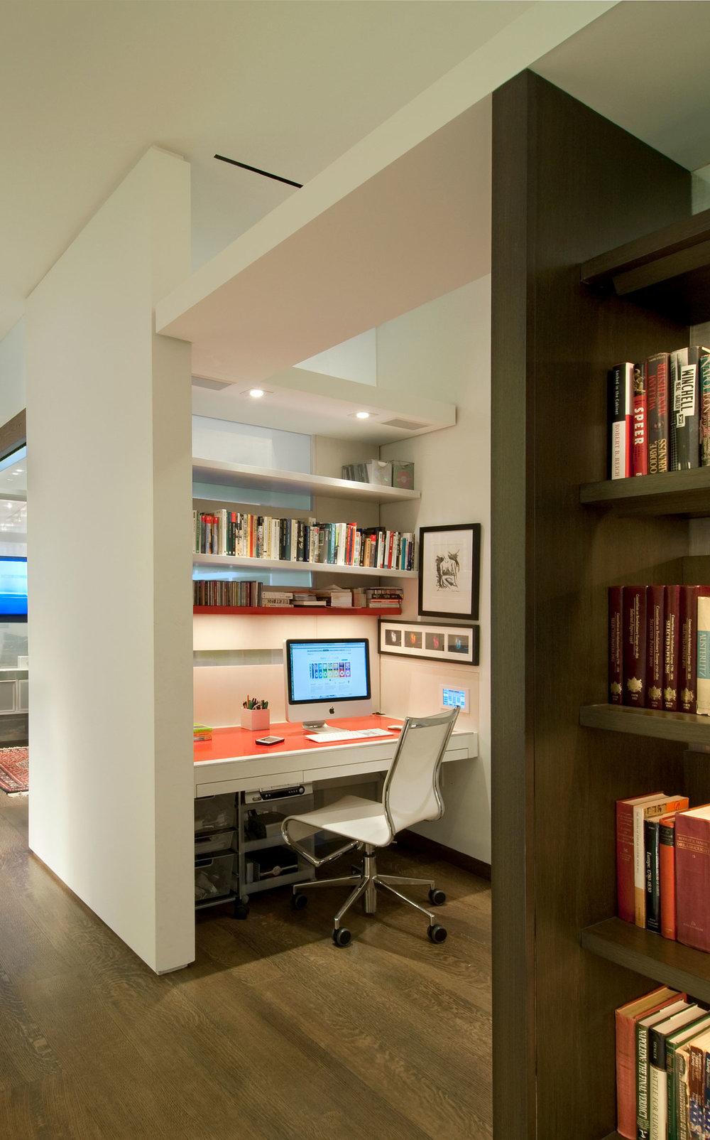 NYC Loft Renovation - Home office