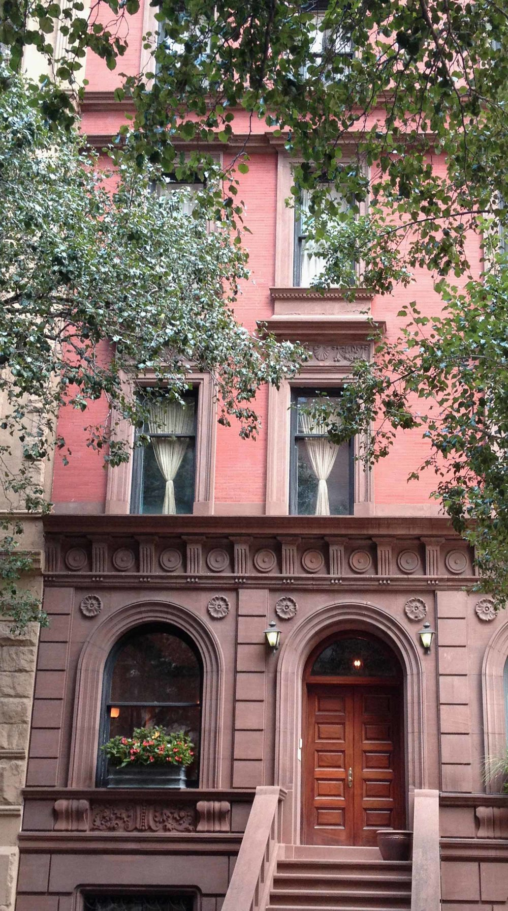 New York Townhouse Renovation - View from street
