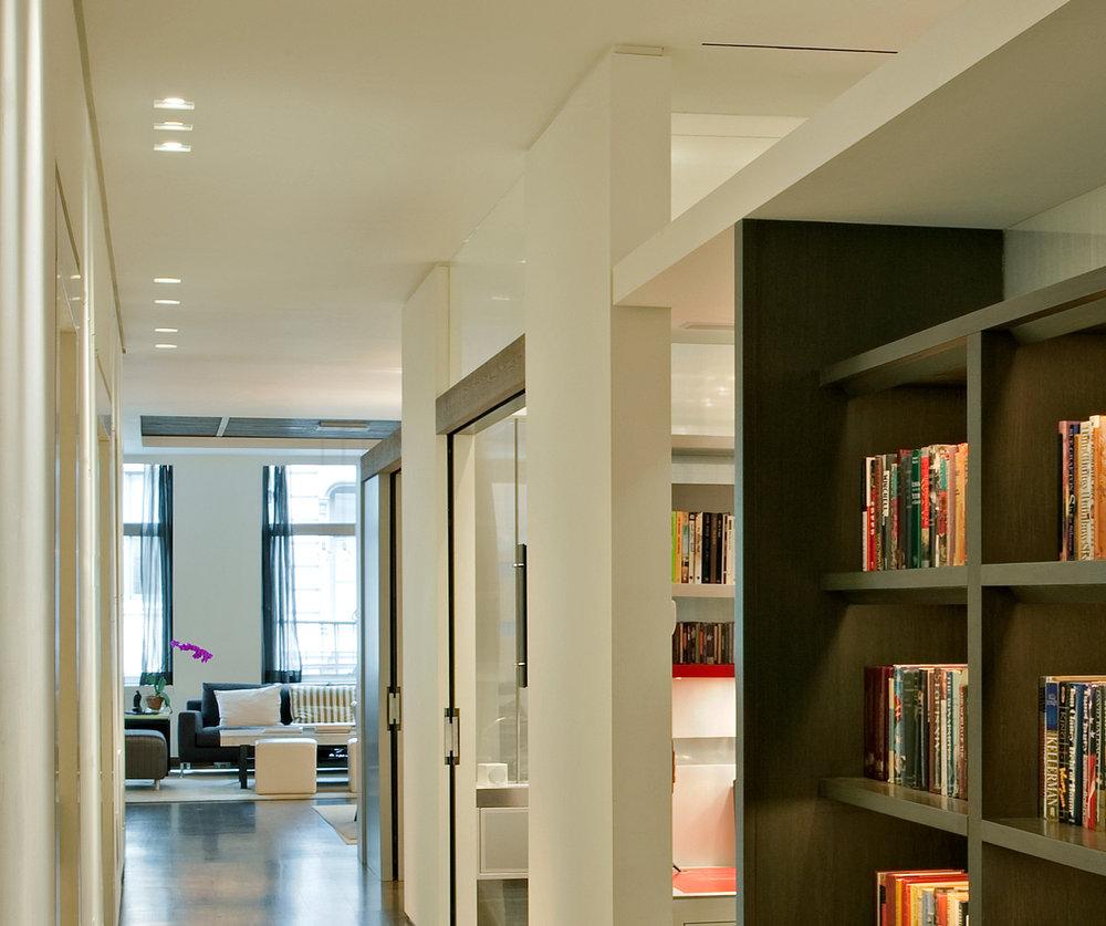 New York Architect - Loft Renovation - Hallway.