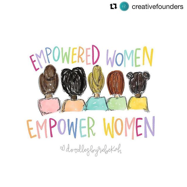 Happy International Women's Day! Today is all about celebrating the women who have worked hard to make this world better for all of us. I'm so proud of the amazing women in my life making my world a better place. #empoweredwomenempowerwomen ⠀⠀⠀⠀⠀⠀⠀⠀⠀ 📷 @doodlesbyrebekah ........ ⠀⠀⠀⠀⠀⠀⠀⠀⠀ #internationalwomensday #doodlesbyrebekah