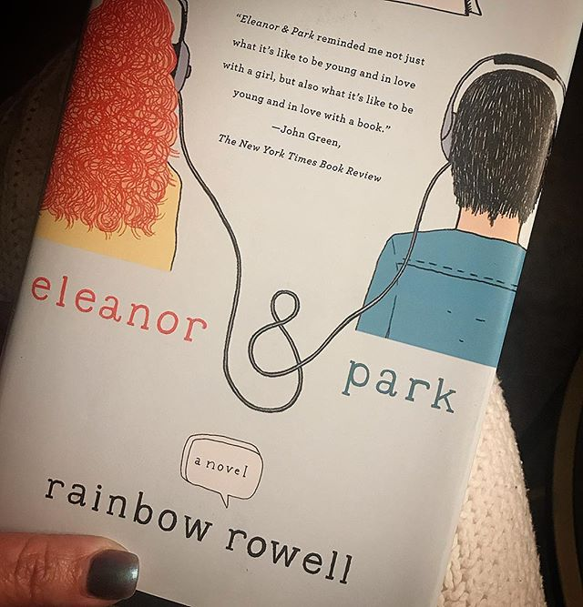 I CANNOT put this book down!@rainbowrowell #eleanorandpark is perfection, heartbreaking perfection. . . . . . . . . #bookstagram #youngandinlove #youngadultbooks #yafiction #youngadultfiction #yabooks