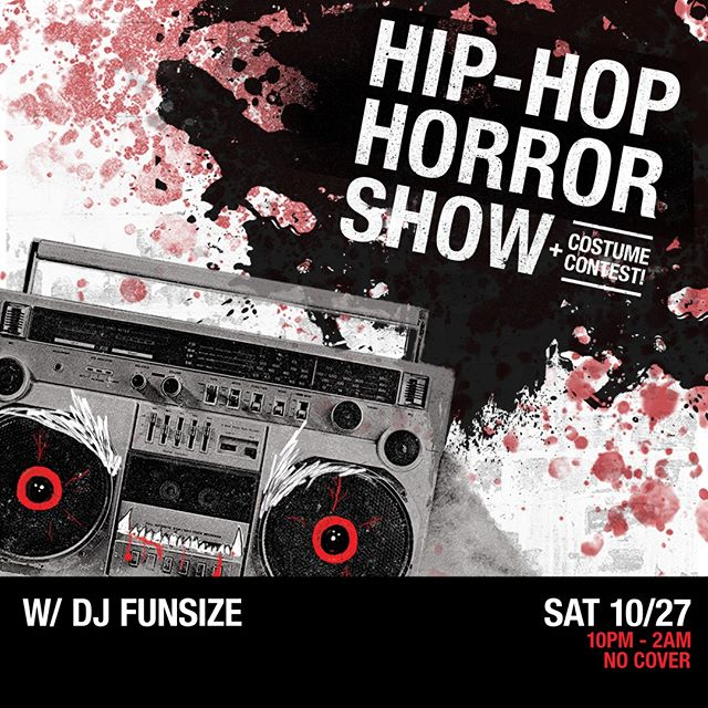 It's about to get spooky when DJ Funsize spins the Hip Hop Horror Show on Saturday, October 27th! Dress in your Halloween finest to win tickets, swag, & cash. With the Burlesque show & afterparty at the Asbury Hotel next door, the biggest Halloween party in Asbury is right here.