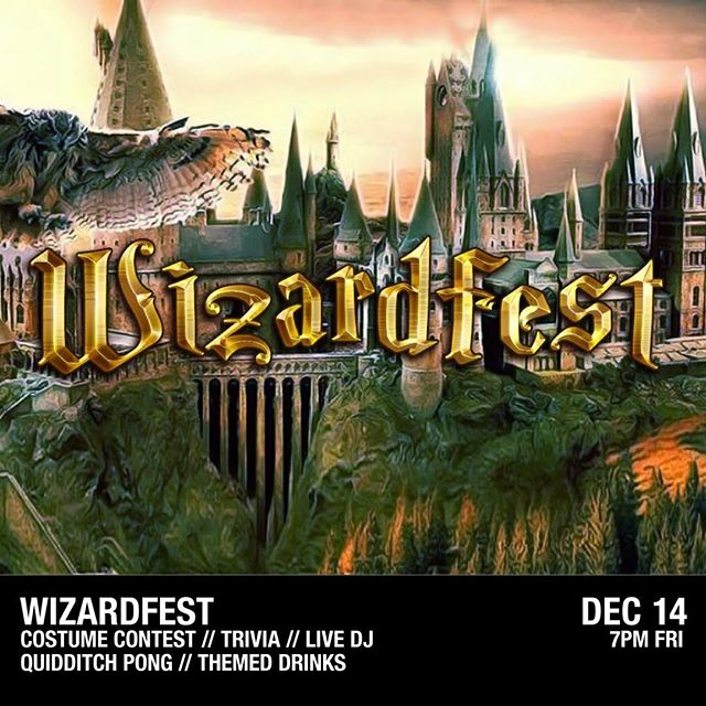 Wands at the ready! We're so excited that @wizardfest is coming to the Lanes on Friday, December 14. Tickets go on sale on Friday at 10 AM- choose from a regular ticket or opt to go all-in by adding a wand or getting the Supreme Package, which includes a wand & a goodie bag!