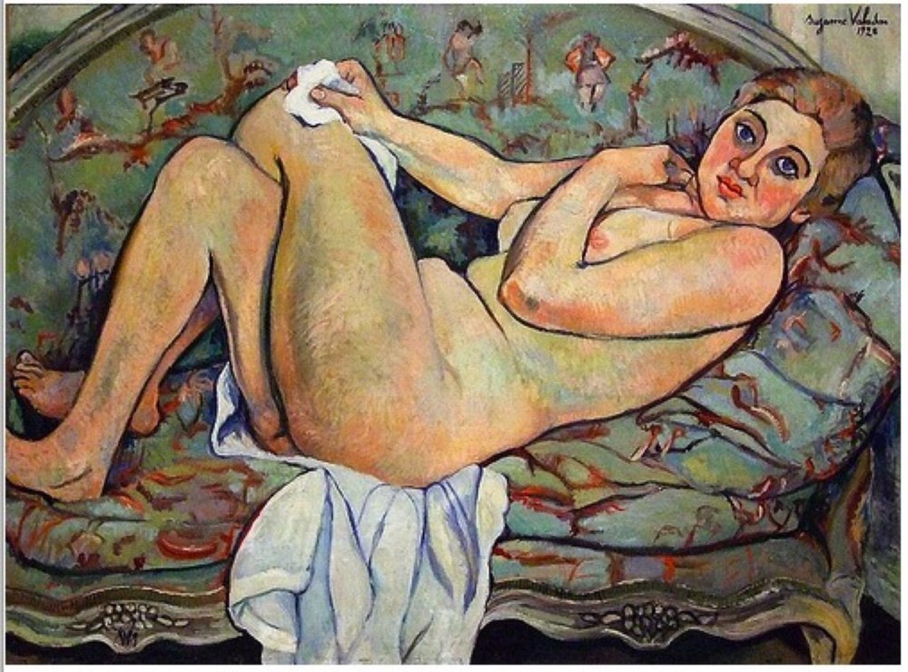 Figure 5: Suzanne Valadon, Reclining Nude, 1928, oil on canvas.