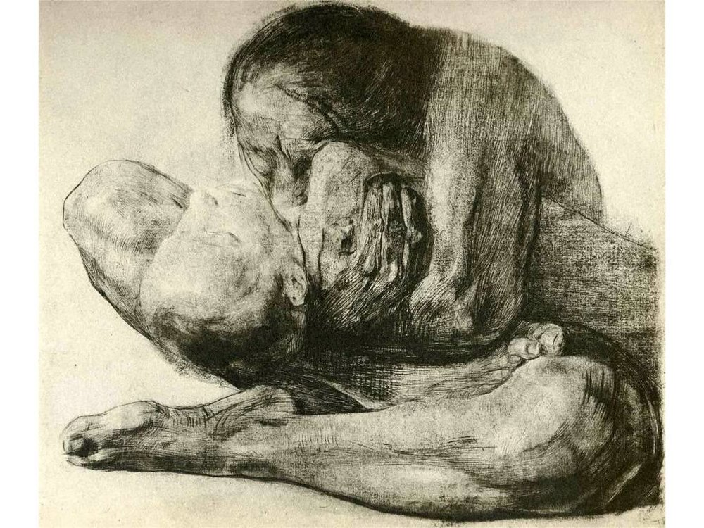 Woman With Dead Child, 1903